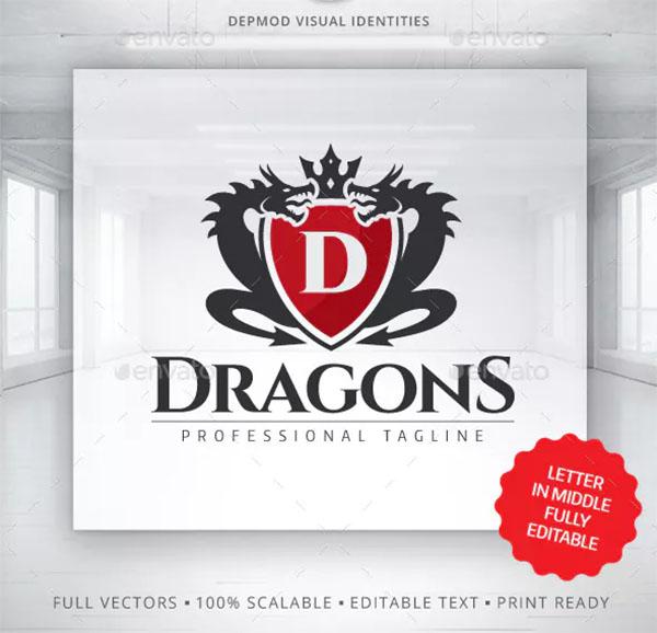 Dragons Beast Logo