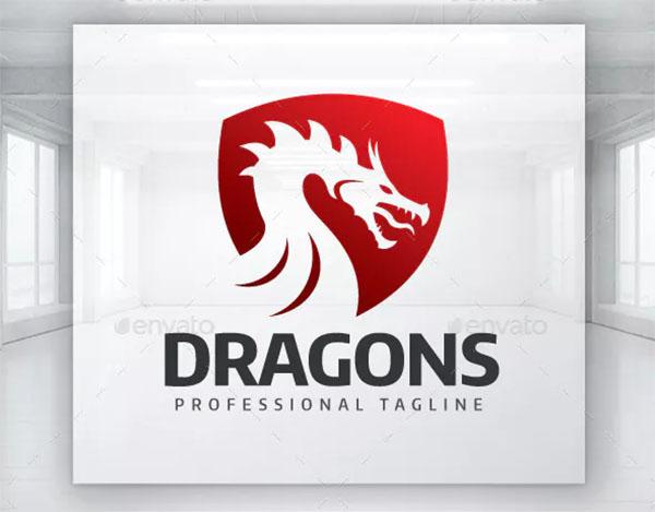 Dragons Visual Identity Logo