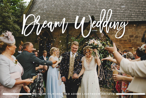 Dream Wedding Lightroom Preset Pack