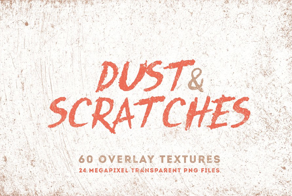 Dust & Scratches Overlay and Textures