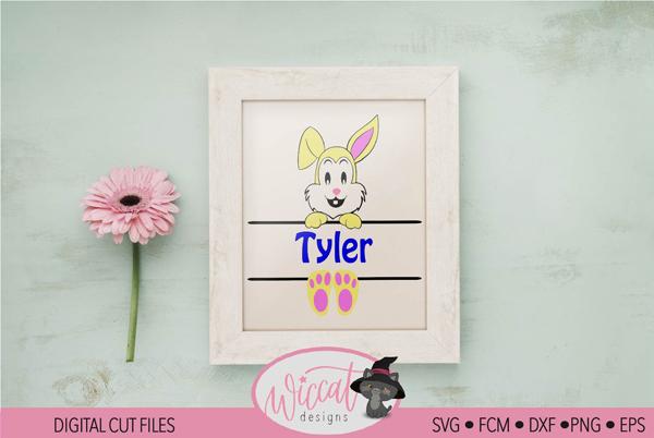 Easter Name Banner
