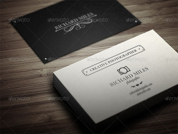 Elegant Vintage Business Card