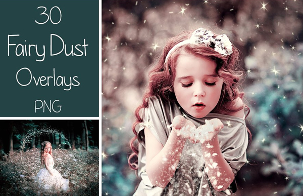 Fairy Dust PNG Overlays