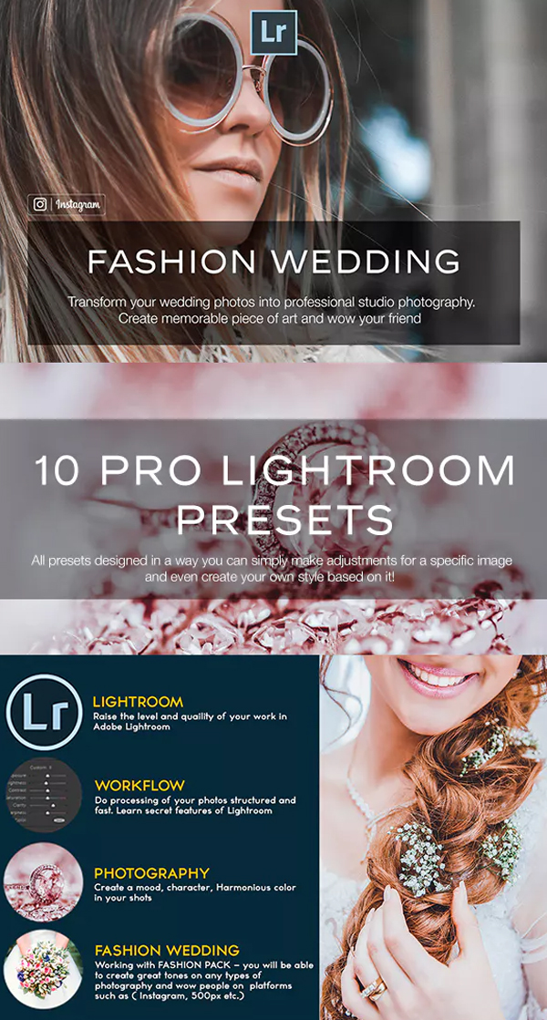 Fashion Wedding Lightroom Preset