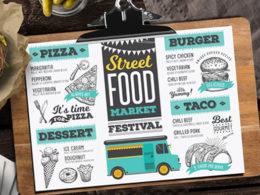 Food Truck Menu Templates