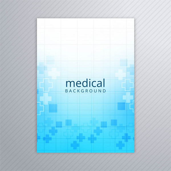 Free Abstract Medical Brochure Template