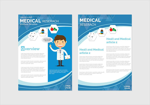 Free Health and Wellness Brochure Template