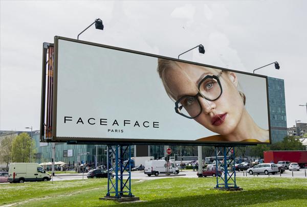 Free New Sunglasses Billboard Banner PSD Mockup