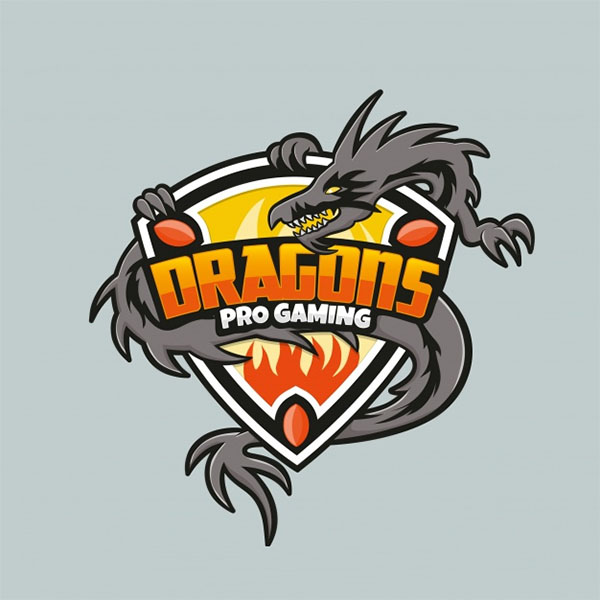 Free PSD E-sports Team Logo Template