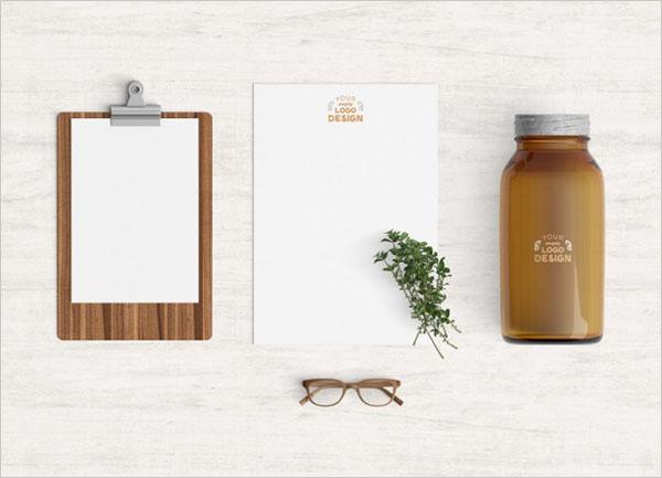 Free PSD Kitchen Products Mockup