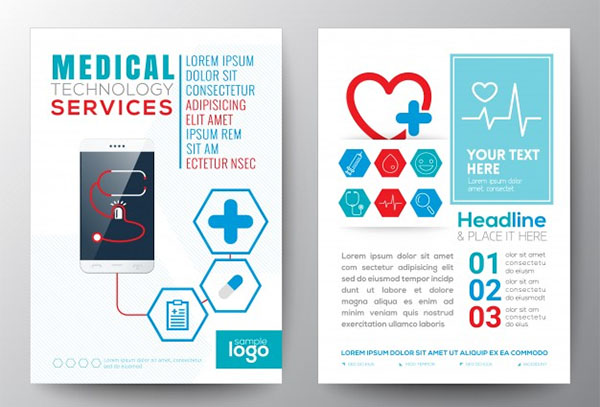 Free PSD Medical Brochure Templates