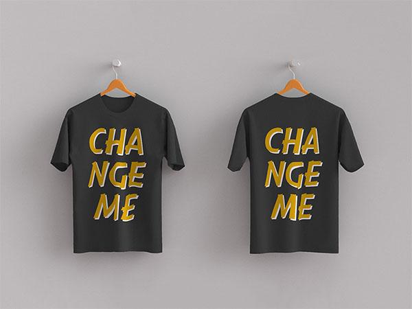 Free PSD T-Shirt Mockups