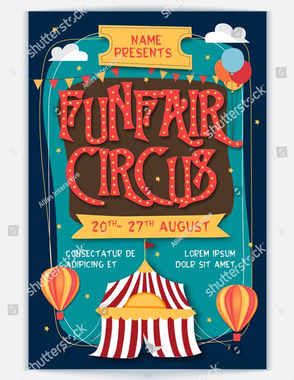 Funfair Circus Template