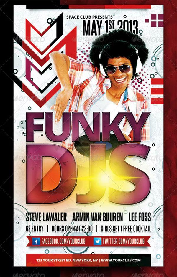 Funky DJS Flyer