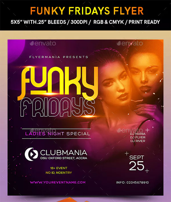 Funky Fridays Flyer