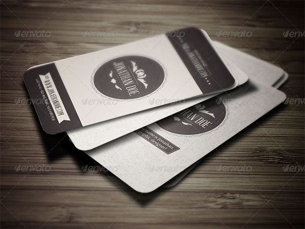 Graphic Vintage Business Card Template