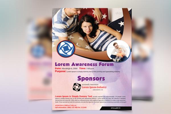Health Awareness Flyer Template
