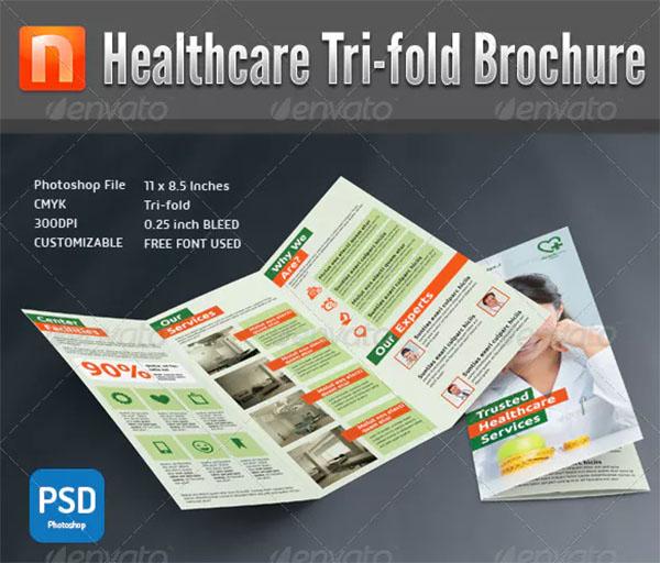 Healthcare Center Tri-fold Brochure