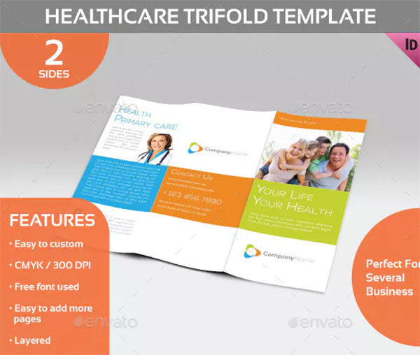 Healthcare Trifold Template