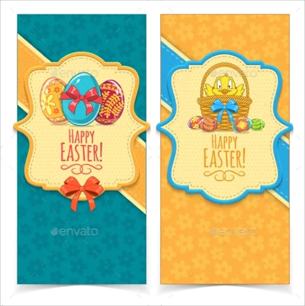Holiday Easter Banner Templates