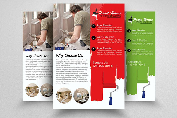 House Paint Service Flyer Template