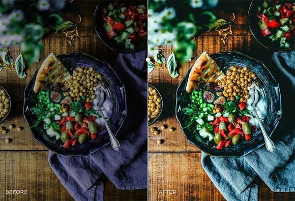 Instagram Food Lightroom Presets