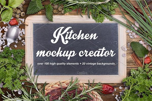Kitchen Mockup Creator