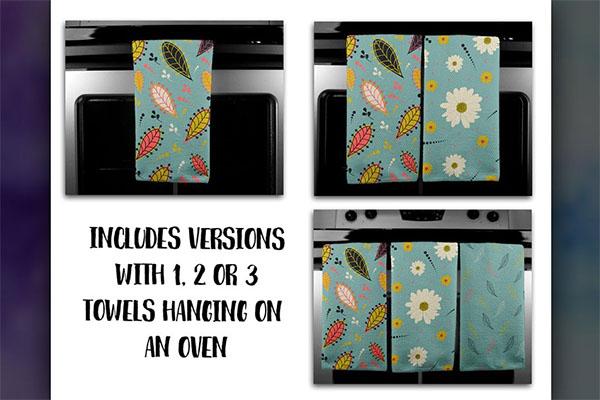 Kitchen Towel Mockup