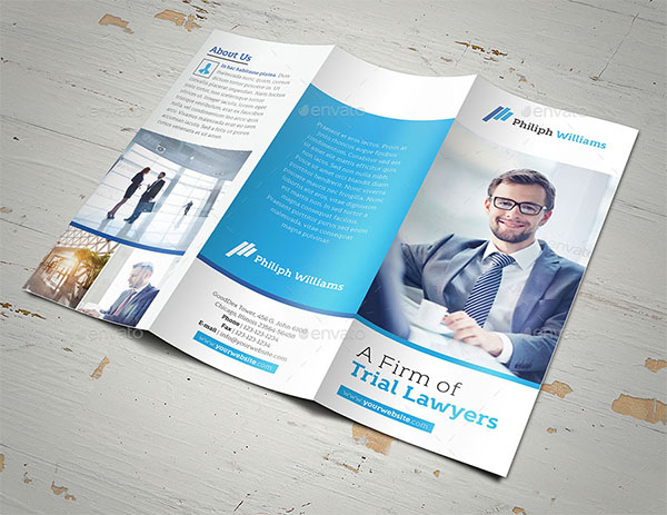 Law Firm Trifold Brochure