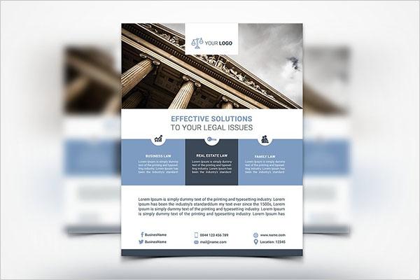 Law Services Design Flyer