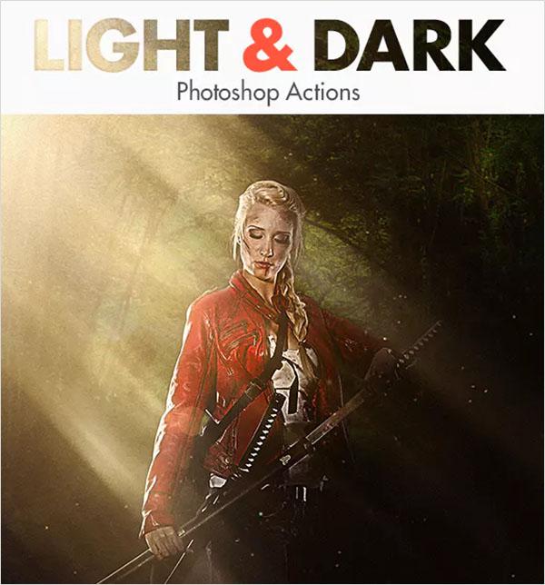 Light & Dark Photoshop Actions