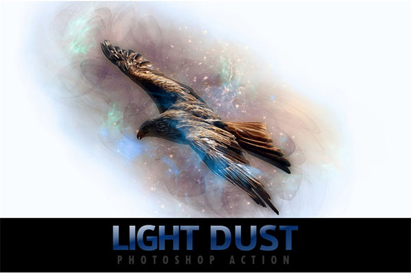 Light Dust Photoshop Actions