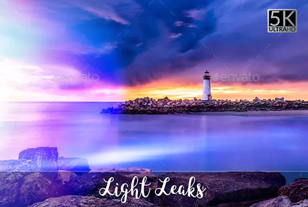 Light Photoshop Leak Overlays