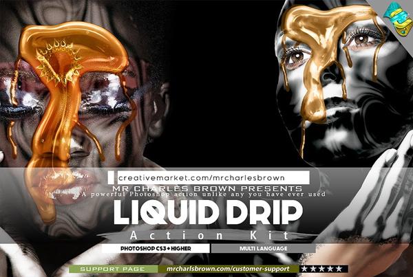Liquid Drip Action Kit