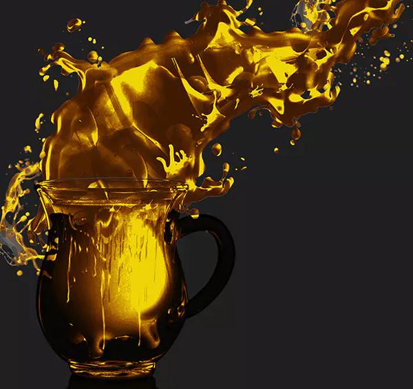Liquid Flow Image Effect Action