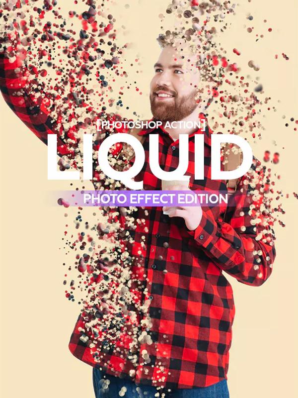 Liquid Photoshop Action