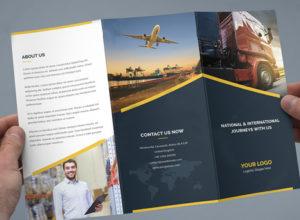 Logistic Brochure Templates