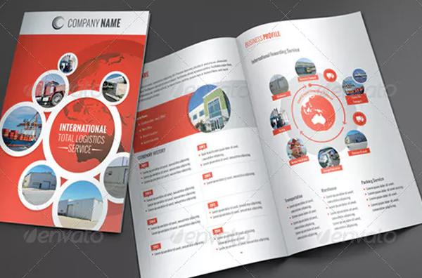 Logistic Business Brochure Template