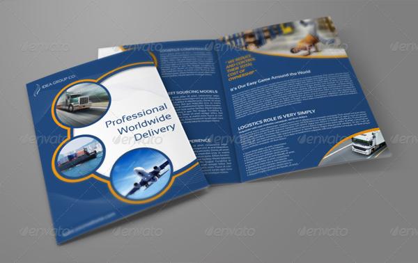 Logistics Services Bi-Fold Brochure