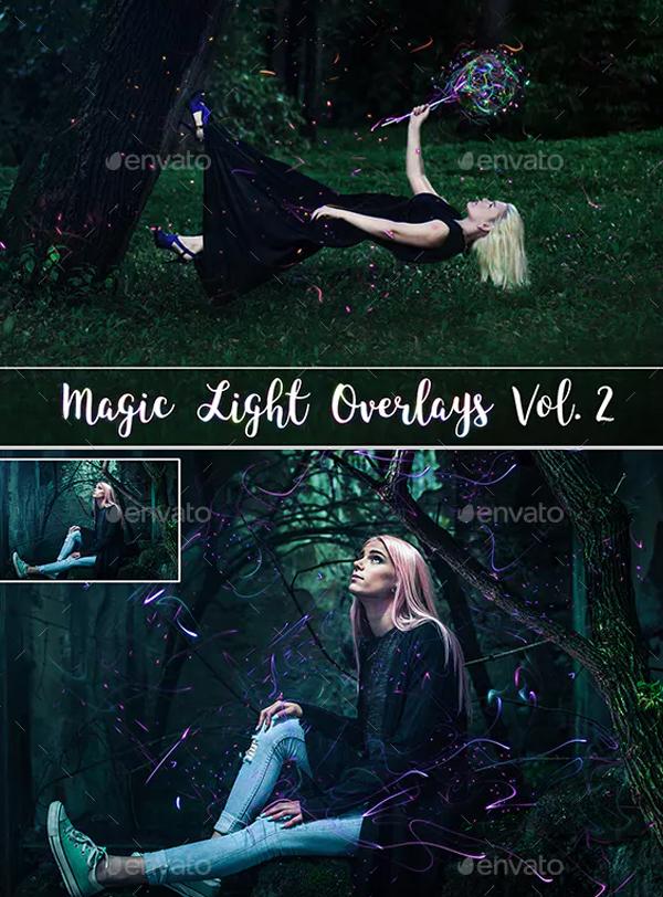 Magic Light Overlays for Photoshop