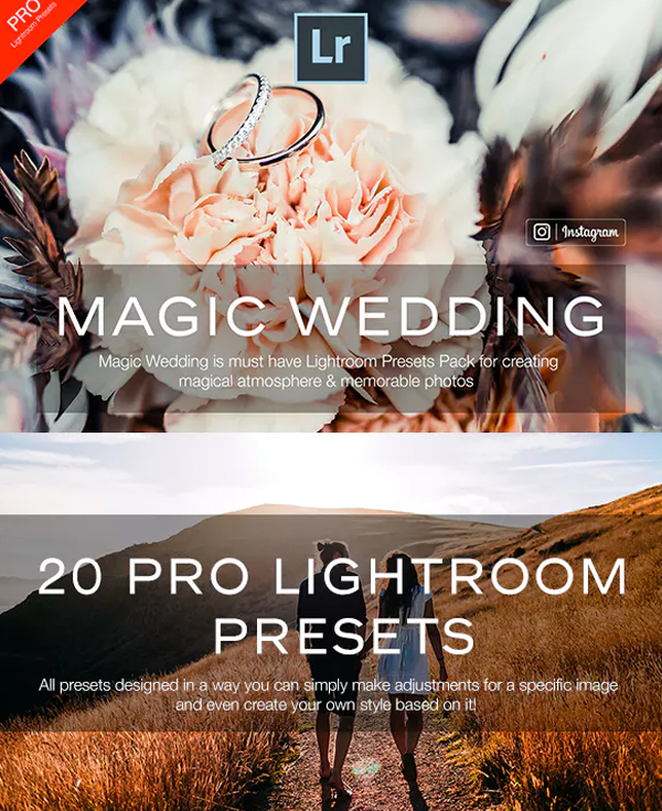 Magic Wedding Lightroom Preset