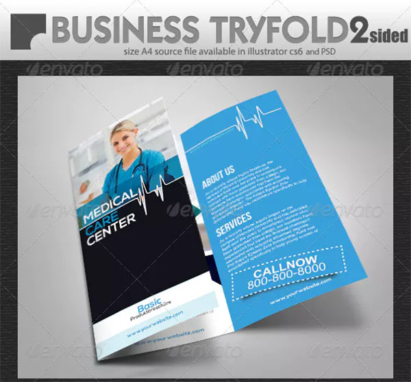 Medical Care Try Fold Brochure