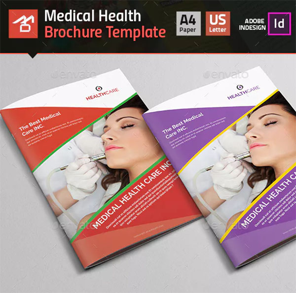 Healthcare Brochure Templates