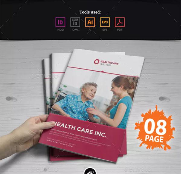 Health Care Medical Brochure Design