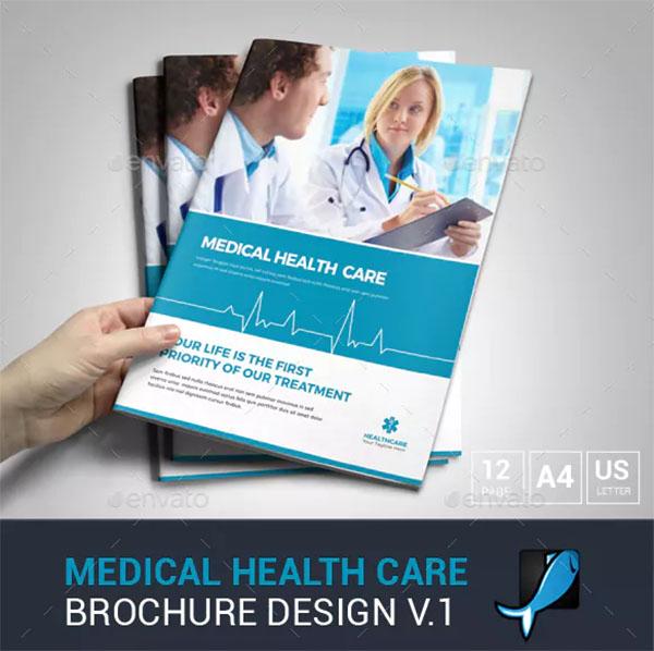 Medical Health Care Brochure Design