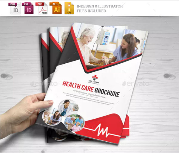 Medical Healthcare Brochure Indesign Template