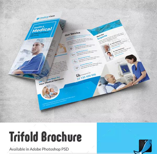 Medical Trifold Brochure Design