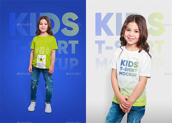 Mixed Kids T-Shirt Mockups