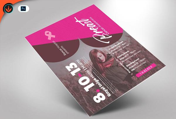 Modern Breast Cancer Awareness Flyer