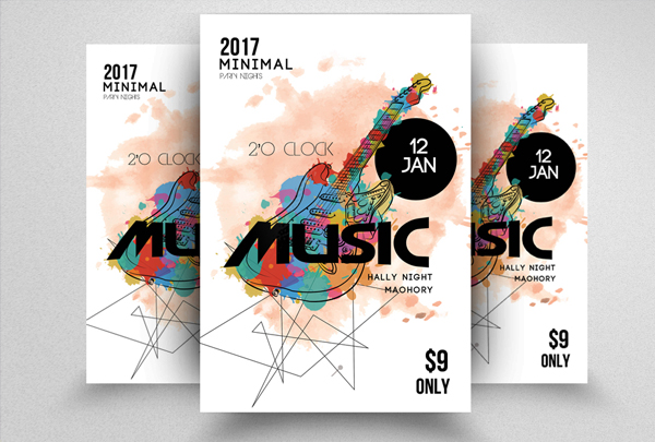 Music Band Party Flyer